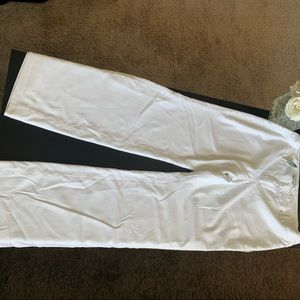 White House black market white dress pants